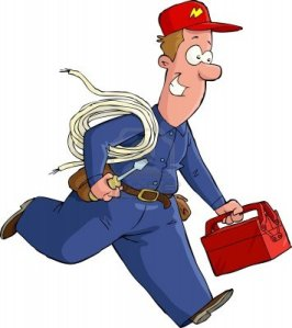 13274622-electrician-runs-with-the-tools-vector-illustration