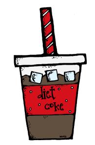 diet coke colored