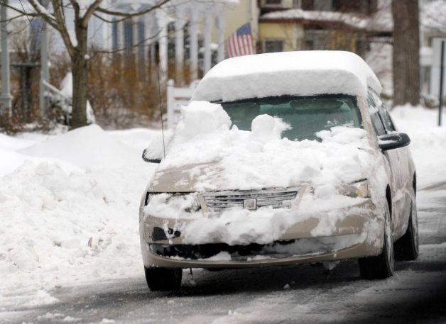 Car Covered In Snow : Cars raising kids with disabilities and remaining sane