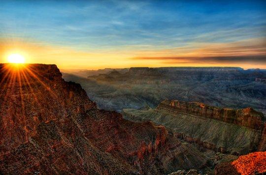 Grand-Canyon-sunset-photos-pics